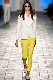 жёлт брюки